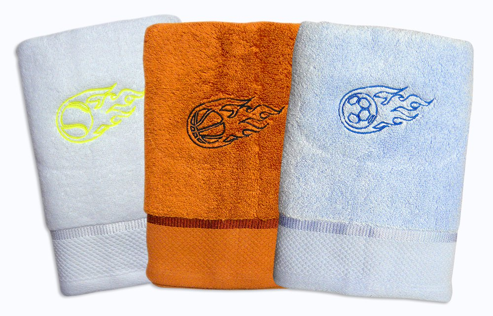 Ručníky pro fotbalisty, tenisty a basketbalisty z mikrobavlny SLEEP WELL ®  50x100cm