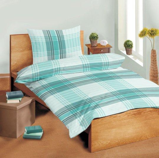 Povlečení bavlna hladká SLEEP WELL® 70x90 + 140x200 cm  - EVITA