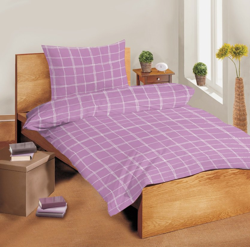 Saténové povlečení SLEEP WELL® 70x90 cm + 140x200 cm  – MALOY
