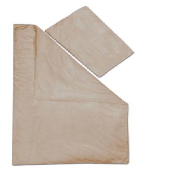 Dětské povlečení mikrovlákno ČOKOLÁDA - 40x60 cm + 135x90 cm