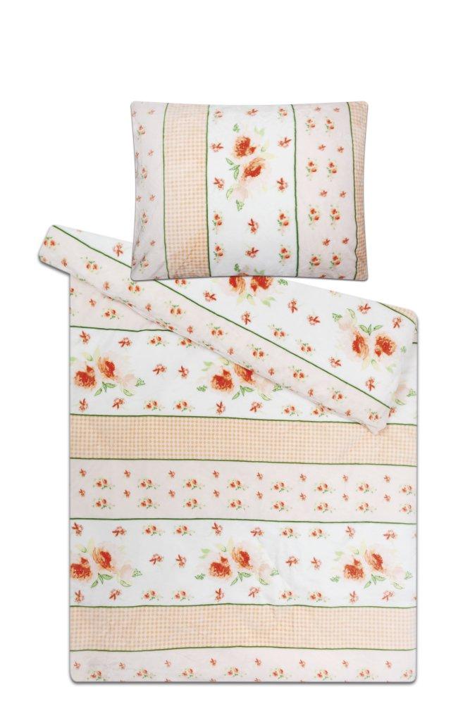 Povlečení mikroflanel SLEEP WELL® - prodloužené 70x90 cm + 140x220 cm - ROMANCE