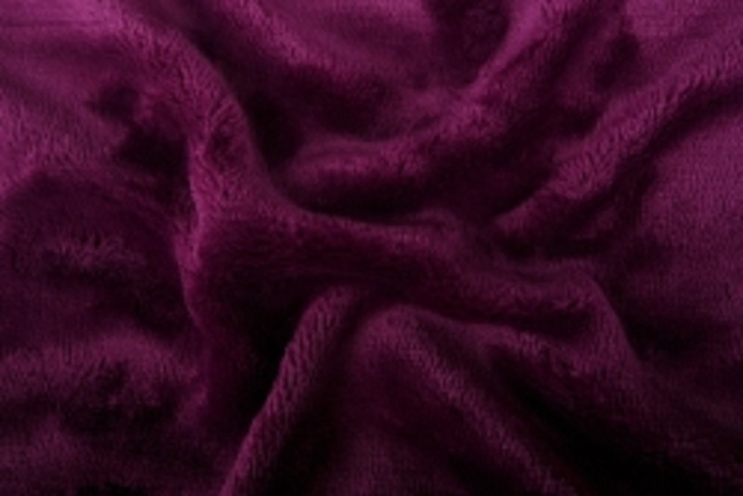Prostěradlo mikroflanel SLEEP WELL® - 180x200 cm - tmavě fialová
