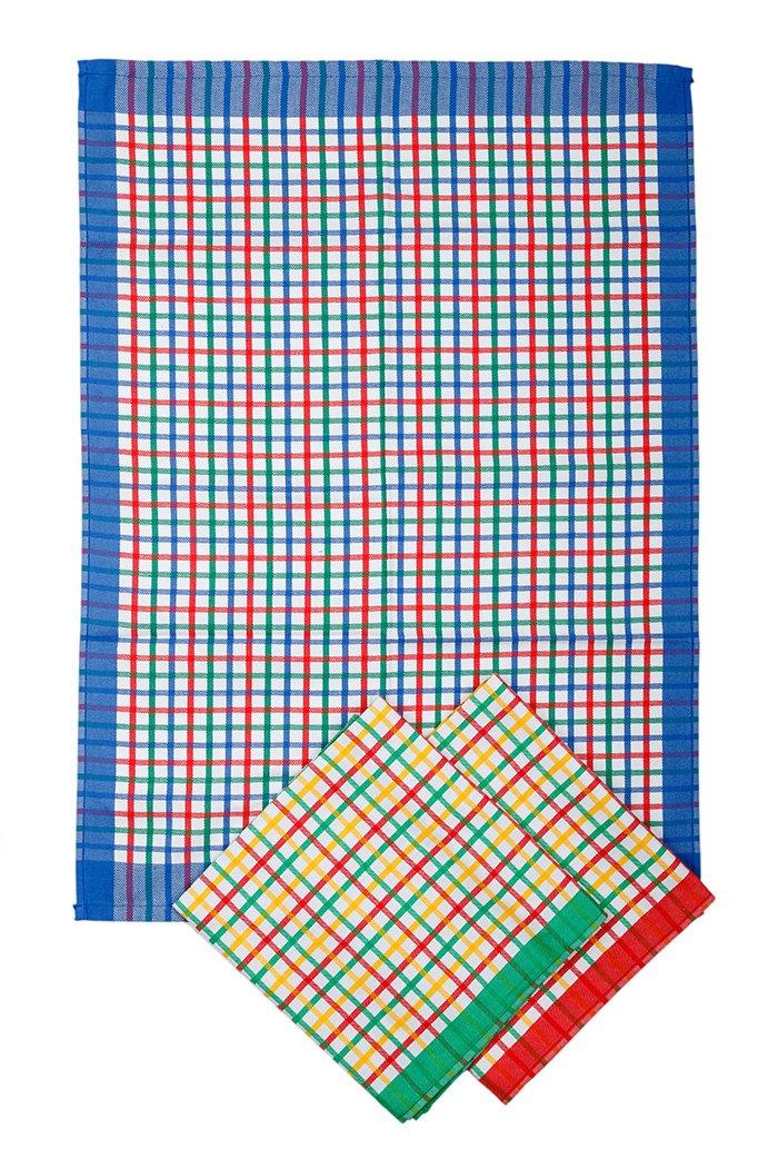 Svitap utěrky egyptská bavlna  50x70cm 3ks - JARNÍ KOSTKA