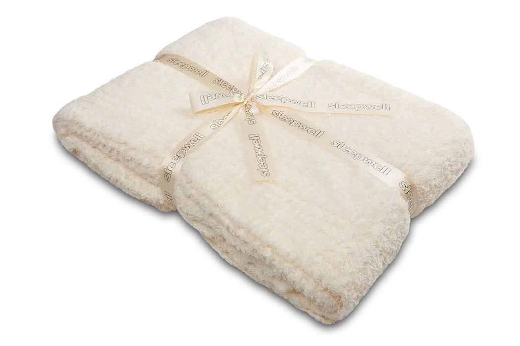 Luxusní deka SLEEP WELL® z mikrovlákna 150x200cm - LUXURY ECRU