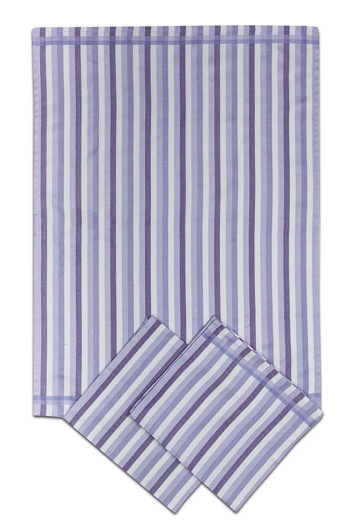 Svitap Utěrky bambusové - Pruh fialový 50x70 cm 3ks
