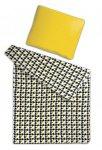 Akce 1+1 - Povlečení mikroflanel SLEEP WELL® 70x90cm + 140x200cm - KOHOUTÍ STOPA