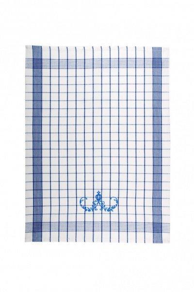 Svitap Utěrky Pozitiv s cibulákovým vzorem  bílé s modrou výšivkou 50x70 cm 3ks