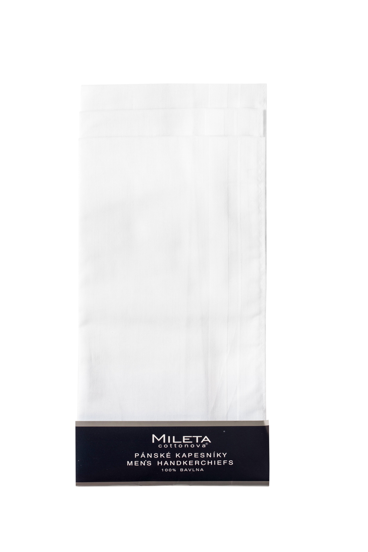 Mileta kapesníky bílé 40x40cm, 6ks