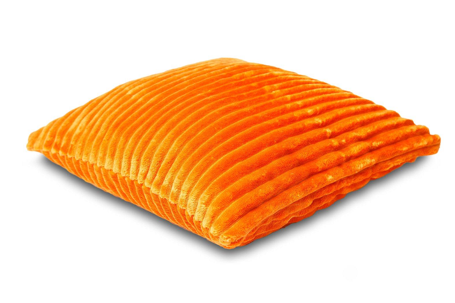 Povlak na polštářek Sleep Well® manžestr 40x40cm - ORANŽOVÁ