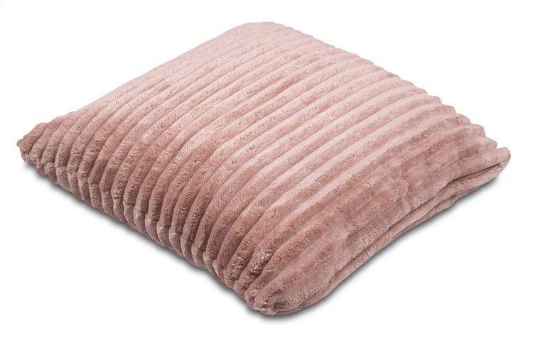 Povlak na polštářek Sleep Well® manžestr 40x40cm - ČOKOLÁDA