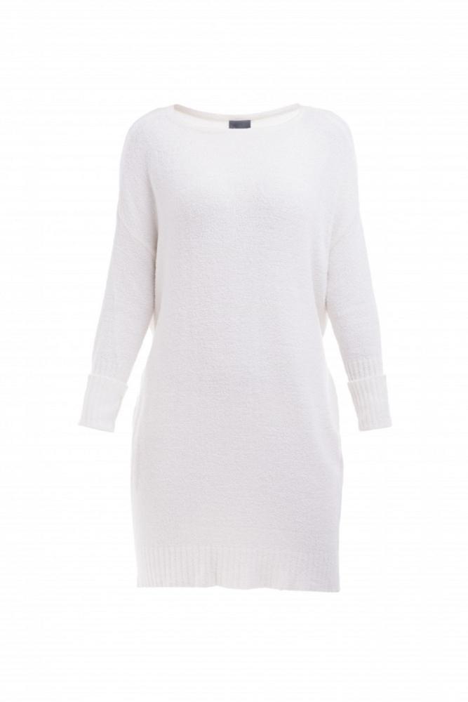 Dámské šaty EVELINA - KRÉMOVĚ BÍLÁ v. M