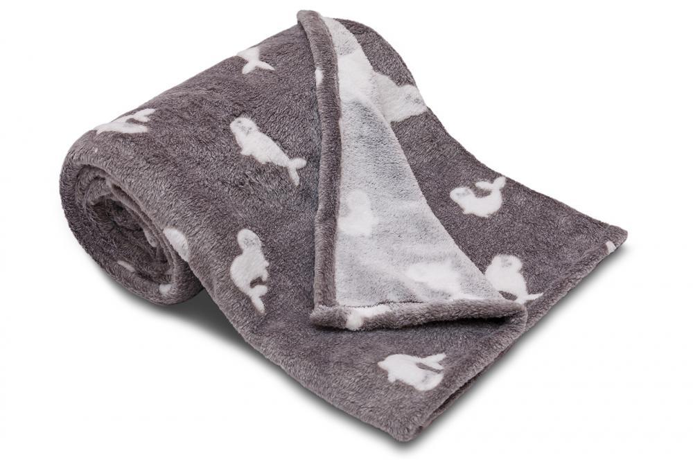 Dětská deka z mikroflanelu SLEEP WELL 75x100cm LACHTAN