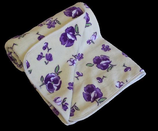 Dětská deka z mikrovlákna SLEEP WELL 85x95cm s potiskem MACEŠKY