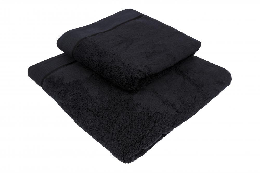 Osuška mikrobavlna SLEEP WELL® - 70x140cm - ČERNÁ