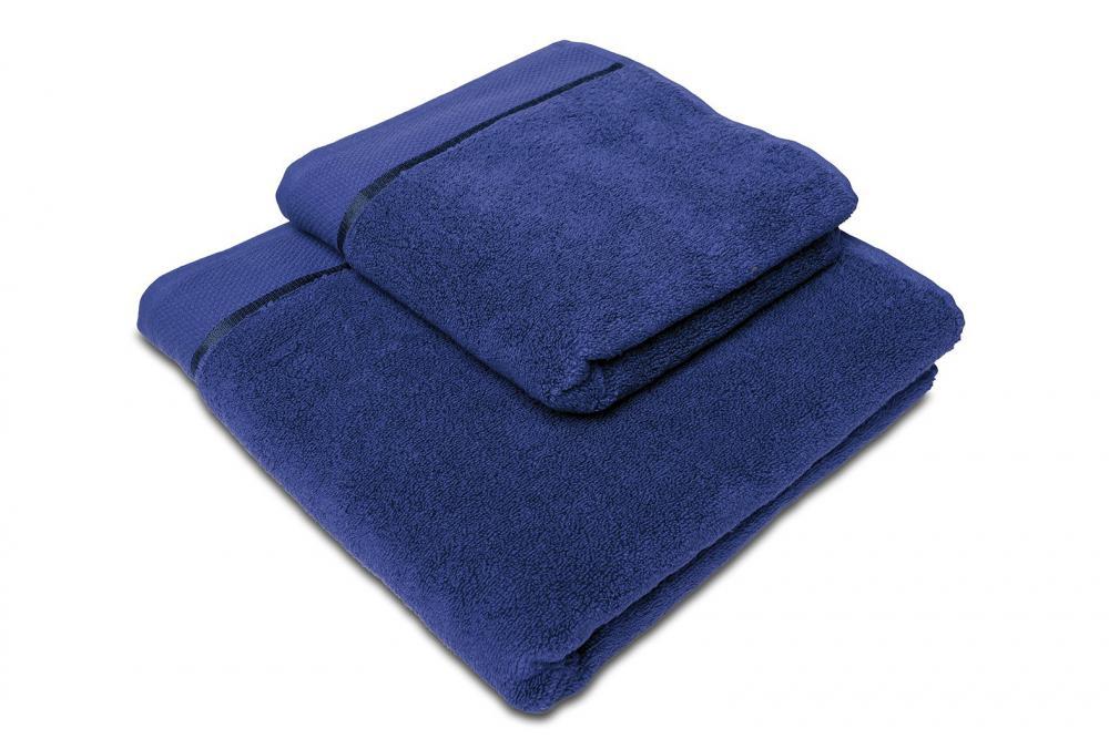 Osuška mikrobavlna SLEEP WELL® - 70x140cm - NÁMOŘNICKÁ MODRÁ