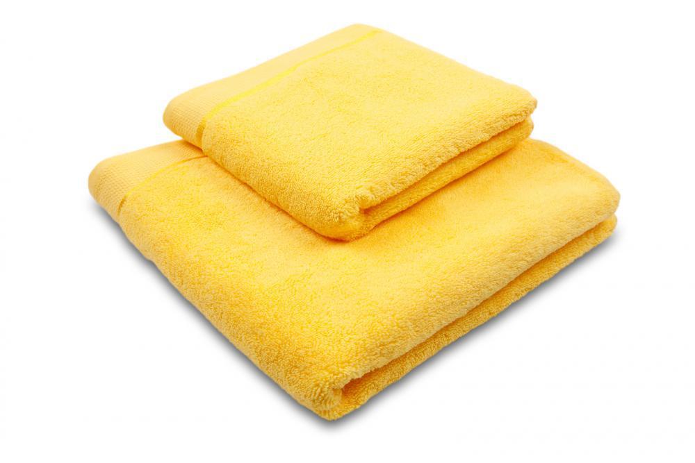 Osuška mikrobavlna SLEEP WELL® - 70x140cm - ŽLUTÁ