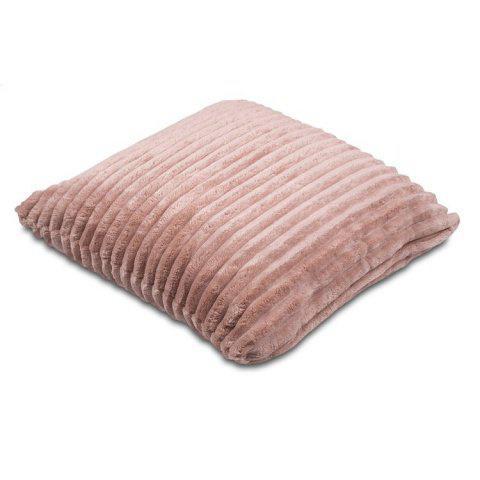 Povlak na polštářek Sleep Well® manžestr 50x50cm - ČOKOLÁDA