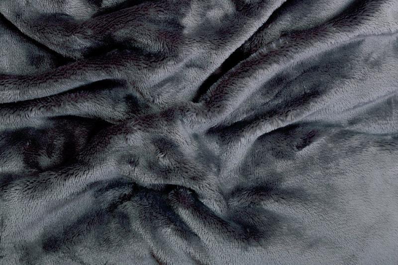 Prostěradlo mikroflanel SLEEP WELL® - 180x200 cm - tmavě šedá