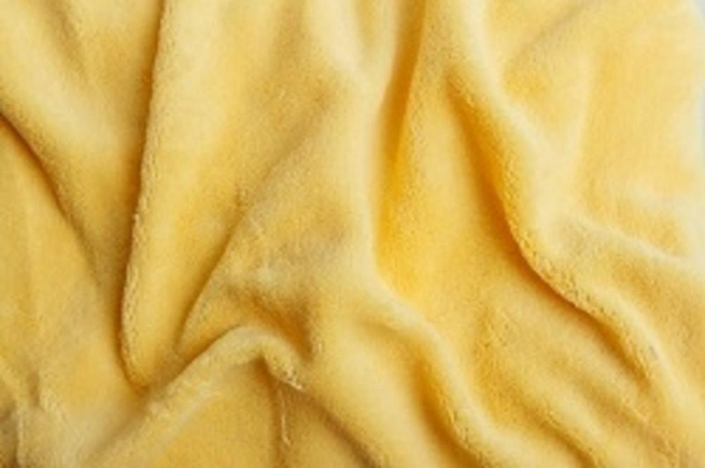 Prostěradlo mikroflanel SLEEP WELL® - 180x200cm - žlutá