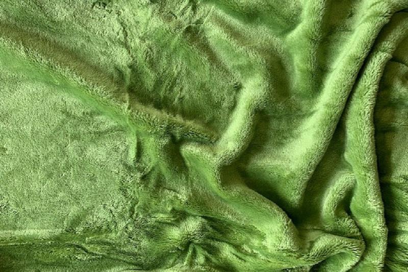 Prostěradlo mikroflanel SLEEP WELL® - 90x200 cm - kiwi