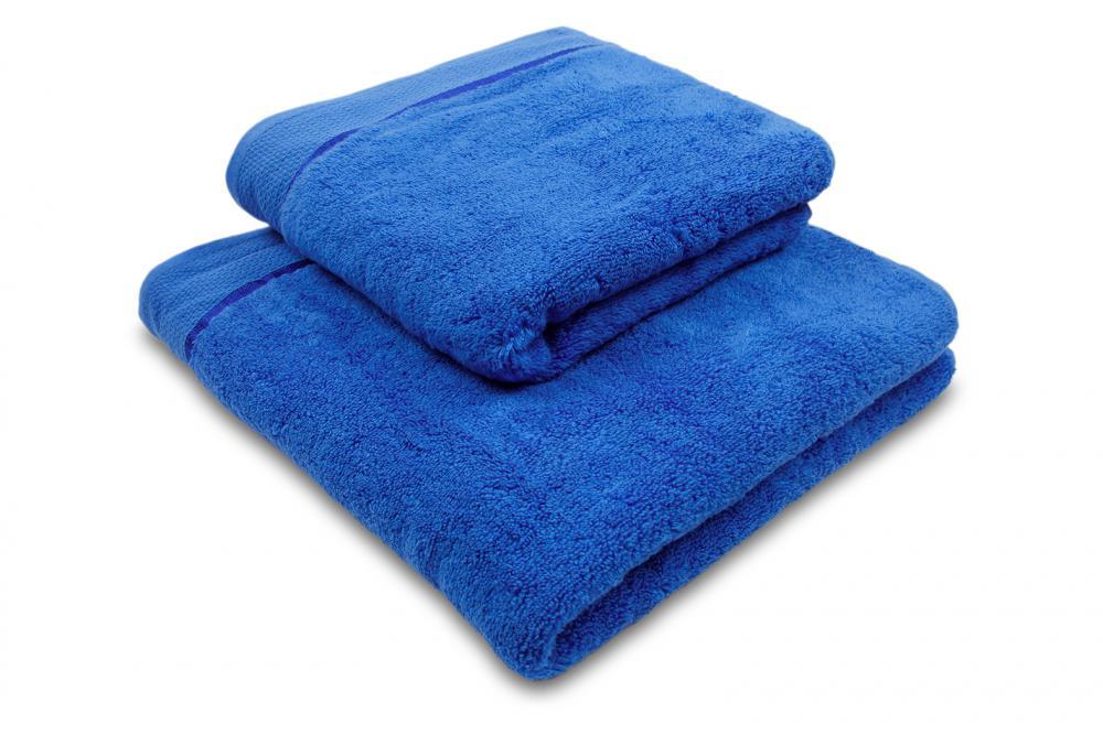 Ručník mikrobavlna SLEEP WELL® - 50x100 cm - TMAVĚ MODRÁ