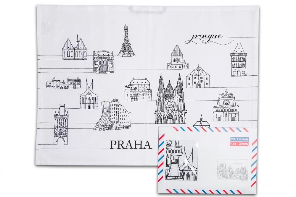 Suvenýr z Prahy - UTĚRKY PRAHA V OBÁLCE 3ks - malé obrázky