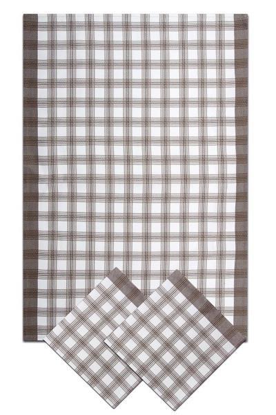 Svitap Utěrky bambusové - Velká kostka - šedá 50x70 cm 3ks