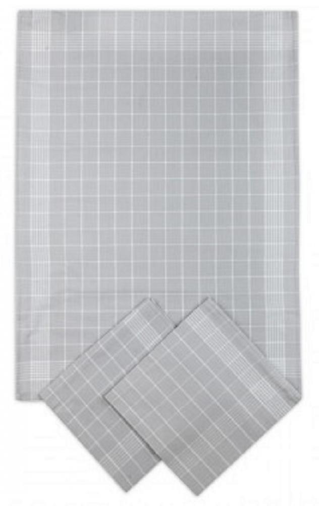 Svitap Utěrky bavlněné - Negativ světle/šedo - bílá 50x70 cm 3ks