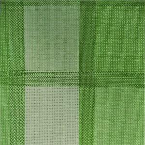 UBRUSOVINA PVC  s textilním podkladem/PVC ubrus - vzor plátno zelené