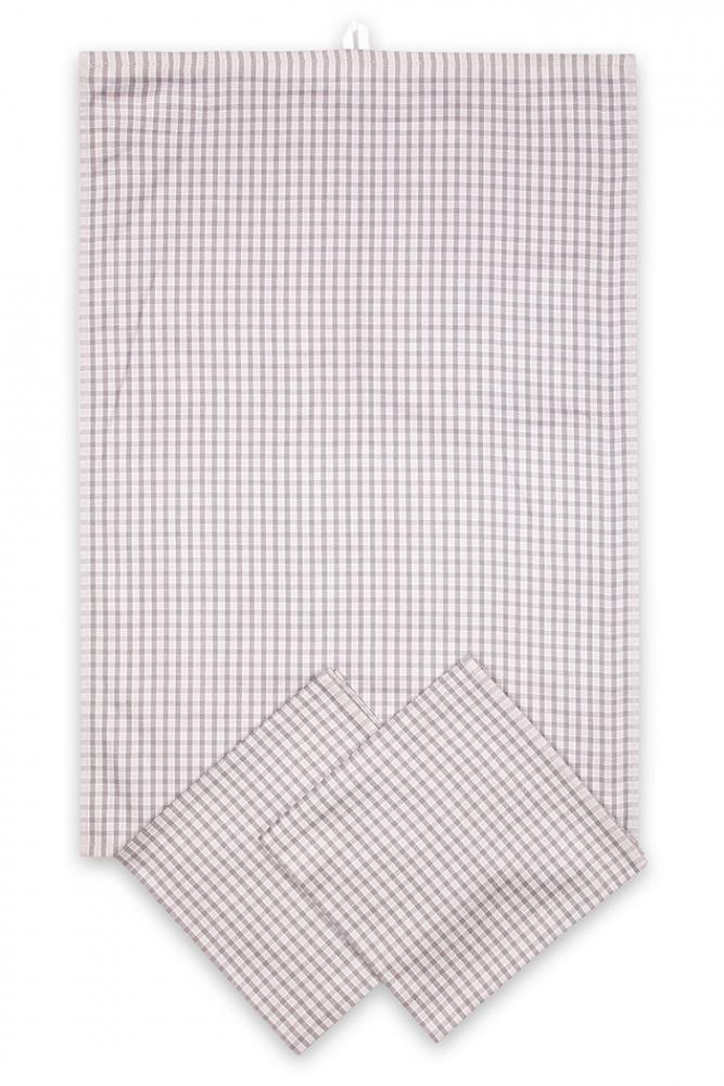 Svitap utěrky egyptská bavlna, žakárově tkaná MALÁ KOSTKA 50x70cm 3ks - BÉŽOVÁ