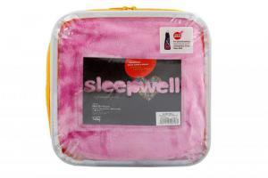 Prostěradlo z mikroflanelu SLEEP WELL® - do dětské postýlky 60x120 cm - RŮŽOVÉ