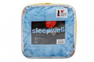 Prostěradlo z mikroflanelu SLEEP WELL® - do dětské postýlky 60x120 cm - MODRÉ