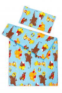 Náhled Dětské povlečení bavlna KREP -  45x65 cm + 135x90 cm