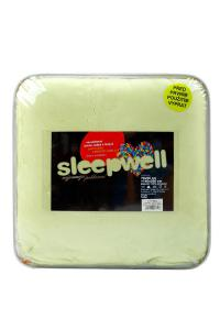 Náhled Povlečení mikroflanel SLEEP WELL® 70x90 cm + 140x200 cm - PISTÁCIE