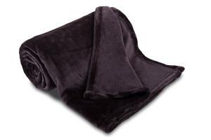 Náhled Deka mikroflanel SLEEP WELL® - 150x200cm - ANTRACIT