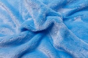 Náhled Prostěradlo mikroflanel SLEEP WELL® - 180x200 cm - světle modrá