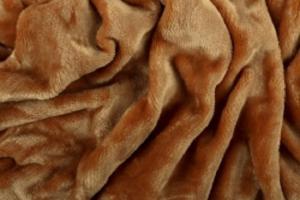 Náhled Prostěradlo mikroflanel SLEEP WELL® - 180x200 cm - okrová