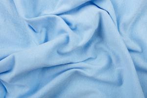 Náhled Prostěradlo 100% bavlna jersey – 90x200 cm - světle modrá