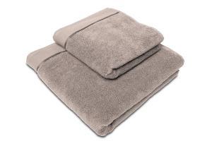 Náhled Ručník mikrobavlna SLEEP WELL® - 50x100 cm - ŠEDOHNĚDÁ
