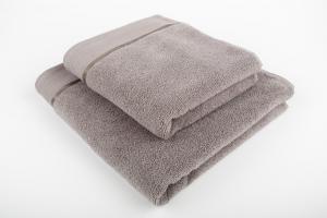Náhled Ručník mikrobavlna SLEEP WELL® - 50x100 cm - SVĚTLE ŠEDÁ