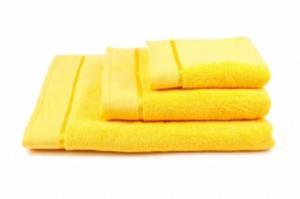 Náhled Osuška mikrobavlna SLEEP WELL® - 70x140cm - ŽLUTÁ