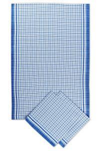 Náhled Svitap utěrky bambusové  Malá kostka  modrá - 3ks 50x70 cm