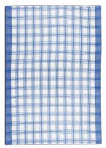 Náhled Svitap Utěrky bambusové - Velká kostka - modrá 50x70 cm 3ks