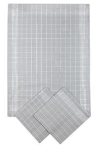Náhled Svitap Utěrky bavlněné - Negativ šedo - bílá 50x70 cm 3ks  FOTO JE ILUSTRAČNÍ, BARVA JE TMAVĚ ŠEDÁ