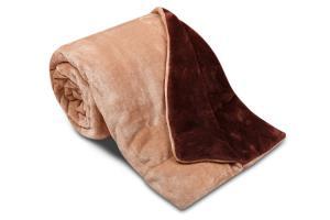 Náhled Deka Ester z mikrovlákna SLEEP WELL® - 150x200cm - ČOKO/TMAVĚ HNĚDÁ