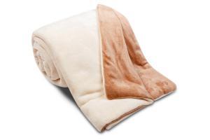 Náhled Deka Ester z mikrovlákna SLEEP WELL® - 150x200cm - ECRU/ČOKO