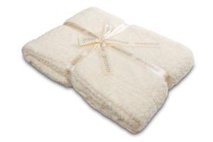Náhled Luxusní deka SLEEP WELL® z mikrovlákna 150x200cm - LUXURY ECRU