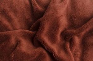 Náhled Prostěradlo mikroflanel SLEEP WELL® - 180x200 cm - hnědá