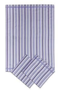 Náhled Svitap Utěrky bambusové - Pruh fialový 50x70 cm 3ks