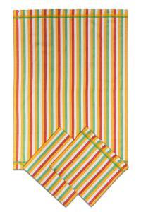 Náhled Utěrky bambusové - Pruh žlutý 50x70 cm 3ks